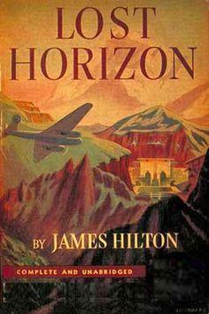 来 Shangri-La 来 ~ Shangri-La is a fictional place described in the 1933 novel Lost Horizon by British author James Hilton. Hilton describes Shangri-La as a mystical, harmonious valley, gently guided from a lamasery, enclosed in the western end of the Kunlun Mountains.