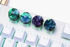 Key Caps, Home Theater Design, Oceans Of The World, Green Valley, Wood Resin, Friend Birthday, Water Features, Iceland, Diy Gifts