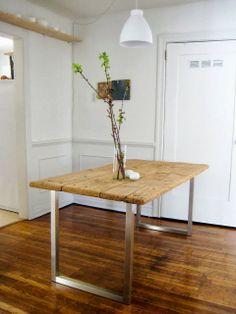 Inspiración de fin de semana. DIY: De mesa vieja a mesa nueva | Etxekodeco