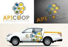 Diseño de Imagen Corporativa para APICOOP, Cooperativa Apícola y Campesina Valdivia