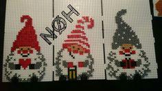 Christmas ornaments hama beads by Nathalia Henningsen Hama Beads Patterns, Beading Patterns, Hama Mini, Beaded Cross Stitch, Perler Beads, Christmas Ornaments, Kids, Diamond, Painting