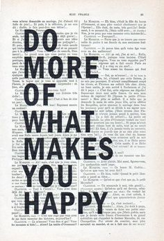 Do More Of What Makes You Happy Typographic Print, Minimalist Design Poster Nordic Art Black and white vintage home decor Christmas Gift What Makes You Happy, Are You Happy, Minimalist Poster Design, Home Decor Christmas Gifts, Rose Illustration, Graph Design, Nordic Art, Cool Typography, Vintage Drawing