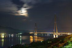 Tatara Bridge, Yoshiumi-cho, Imabari-city, Ejhime prefecture, Japan