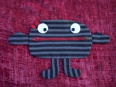 Mrs. Money Hungry Monster Wallet/Change Holder. $13.50, via Etsy.