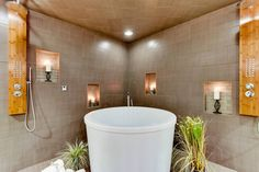 Japanese soaking tubs for small bathrooms are an excellent choice for interior decoration. You can place them in the bathroom even the smallest sizes. With its perfect forms and functionality, the Japanese bath can provide for the room an interesting view, harmoniously fit into the overall design as well as you can get an unforgettable ...