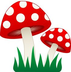 mushroom clipart | Gnome Birthday for E | Pinterest