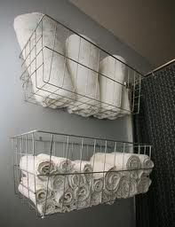 Wire basket for towels Stella B. Clothing #shopstellab
