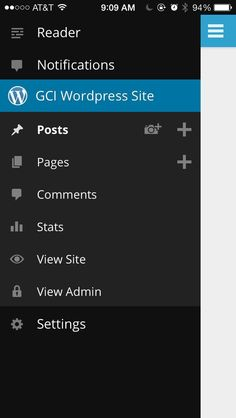app side menu linkedin - Google Search