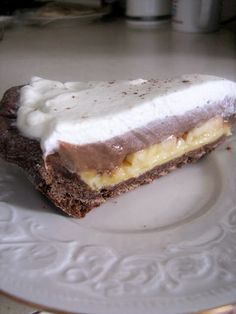 Culinary Couture: Chocolate Banana Cream Pie