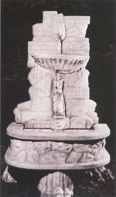 Fontana AGRIGENTO in cemento cm 86x57x148H - arredogiardini.it