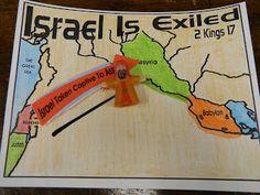 Israel goes into Exile...Explorer Journal Activity. Hands On Bible Teacher