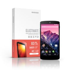 SIEGE - Glastimate Premium Tempered Glass Screen Protector for Nexus 5