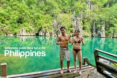 more fun in the Philippines. Resorts In Philippines, Philippines Tourism, Dream Vacations, More Fun, Swimming Pools, Places To Visit, America, Awesome, Garden