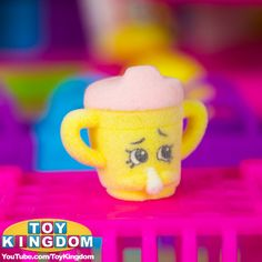 Special edition fluffy baby sippy sips shopkin!