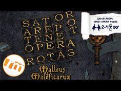 Recensioni Minute [105] - Sator arepo tenet opera rotas + Malleus maleficarum - YouTube