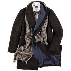 http://chicerman.com  suitsupply:  Equal parts uptown and downtown elegance and edge this double-breasted coat will look as stylish with a suit as it would with more casual ensembles taking any outfit up a notch.http://bit.ly/1r7JsWG  #MENSUIT #TAILORSUIT