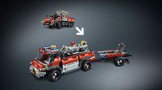 42068 Vliegveld-reddingsvoertuig - Producten - Technic LEGO.com