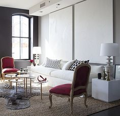Hearst Designer Visions Show House on AphroChic Blog