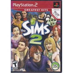 PS2 | Sims 2 | Playstation 2 | EA | Rated T for Teen | $7.99