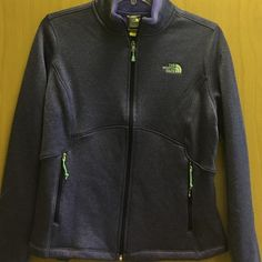 a41688f83 North Face Womens Black Fleece Fitted Jacket Size M #fashion ...