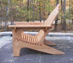 Adirondack Chair w/Dowel Construction