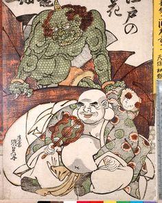 「江戸の花 籠細工」Kunisada #samurai1nk #kunisada #woodblockprint #demons #buddha #gods by samurai1nk https://www.instagram.com/p/BGCw5EiCiJM/