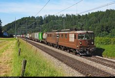 Net Photo: 425 015 BLS Cargo Re 465 at Wynigen, Switzerland by Fritz Sommer Locomotive, Switzerland, Trains, Vehicles, Rolling Stock, Locs, Vehicle, Train, Tools