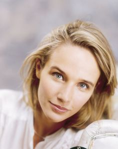 Piano virtuoso Helene Grimaud- turn it up; clean the house Lovely with blond hair