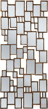 Spiegel Cubes Copper 132x54cm