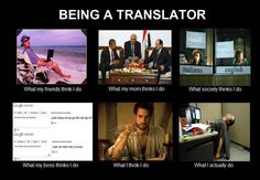 Being a translator