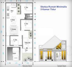 denah rumah 3 kamar ukuran 7x12 4