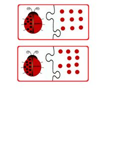 Ladybug math printables for kids Teaching Numbers, Counting Activities, Math Worksheets, Easter Crafts, Montessori, Ladybug, Children, Kids, My Books