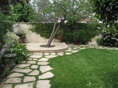 Sherman Oaks Garden mediterranean landscape