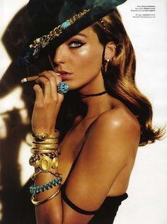 Daria in V Magazine - Mario Testino