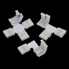 5pcs/lot 10mm 5PIN RGBW L type / X type / T shape No Soldering connector For 5050 RGBW / RGBWW LED strip 5PIN RGBW connector  EUR 2.35  Meer informatie  http://ift.tt/2t8d0ru #aliexpress