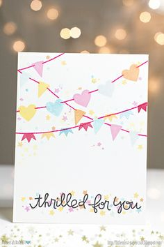 Card by SPARKS DT Taheerah Atchia PS stamp sets: Royal Cuteness, Crystal Clear, Sweet Hearts, Simply Said, Enjoy the Show