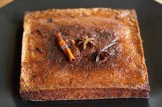 warm tunisian orange and almond cake