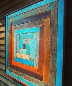 Items similar to Reclaimed Wood Artwork Wall Sculptures Quilt Designs Rustic Modern Abstract Transitional Rustic Wood Sculpture - Reclaimed Wood Lath Art - Wood Quilt Designs - Custom Designs - Wall Art - Wall Hanging - Home & Living Wooden Wall Art, Diy Wall Art, Hanging Wall Art, Wood Artwork, Wooden Desk, Arte Pallet, Pallet Art, Diy Pallet, Pallet Wood