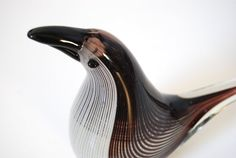 Murano Glass Bird by Dino Martens for Fratelli by MidModMomStore, $280.00