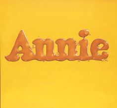 Ed Ruscha - Annie, Poured from Maple Syrup, 1966