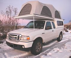 truck campers | The FLIP-PAC convertible shell / camper offers you the choice. Use ...