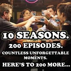Here's to 200 episodes more!!