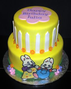 Max & Ruby Birthday Cake