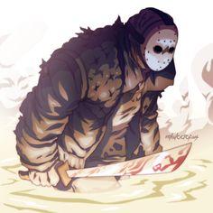 Halloween Countdown: #3: Jason by Michael Anderson, via Behance