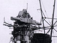 戦艦大和の測距儀(15m)。Yamato-class battleship (Range Finder, 15m)