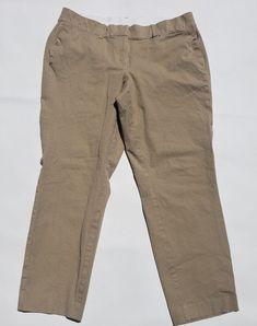 8d8257e4192 Lane Bryant Womens Size 16 Khaki Tan Cropped Skinny Capri Pants School Work   fashion  clothing  shoes  accessories  womensclothing  pants (ebay link)