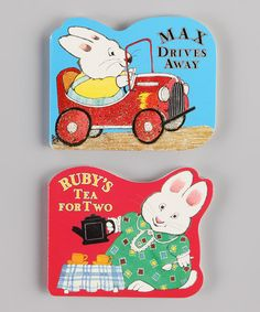Take a look at this Max & Ruby Shaped Board Books by Childrens Book Week: Baby & Toddler on @zulily today!