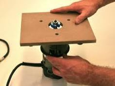 Make Your Own Homemade Router Table & Base Plates