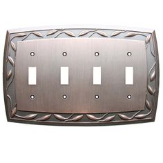 Allen And Roth Wall Plates Alluring Switch Plates  Allen  Roth 2Gang Oil Rubbed Bronze Decorator Design Ideas