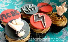 Heavy Metal cupcakes!